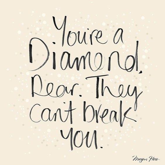 Diamonds are girl's best friend
