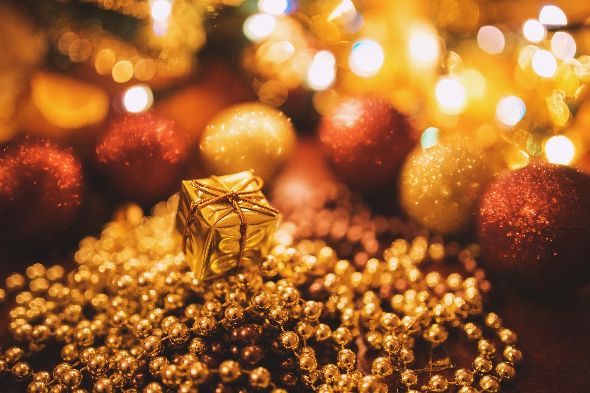 Goldglänzend wie die Weihnachtszeit