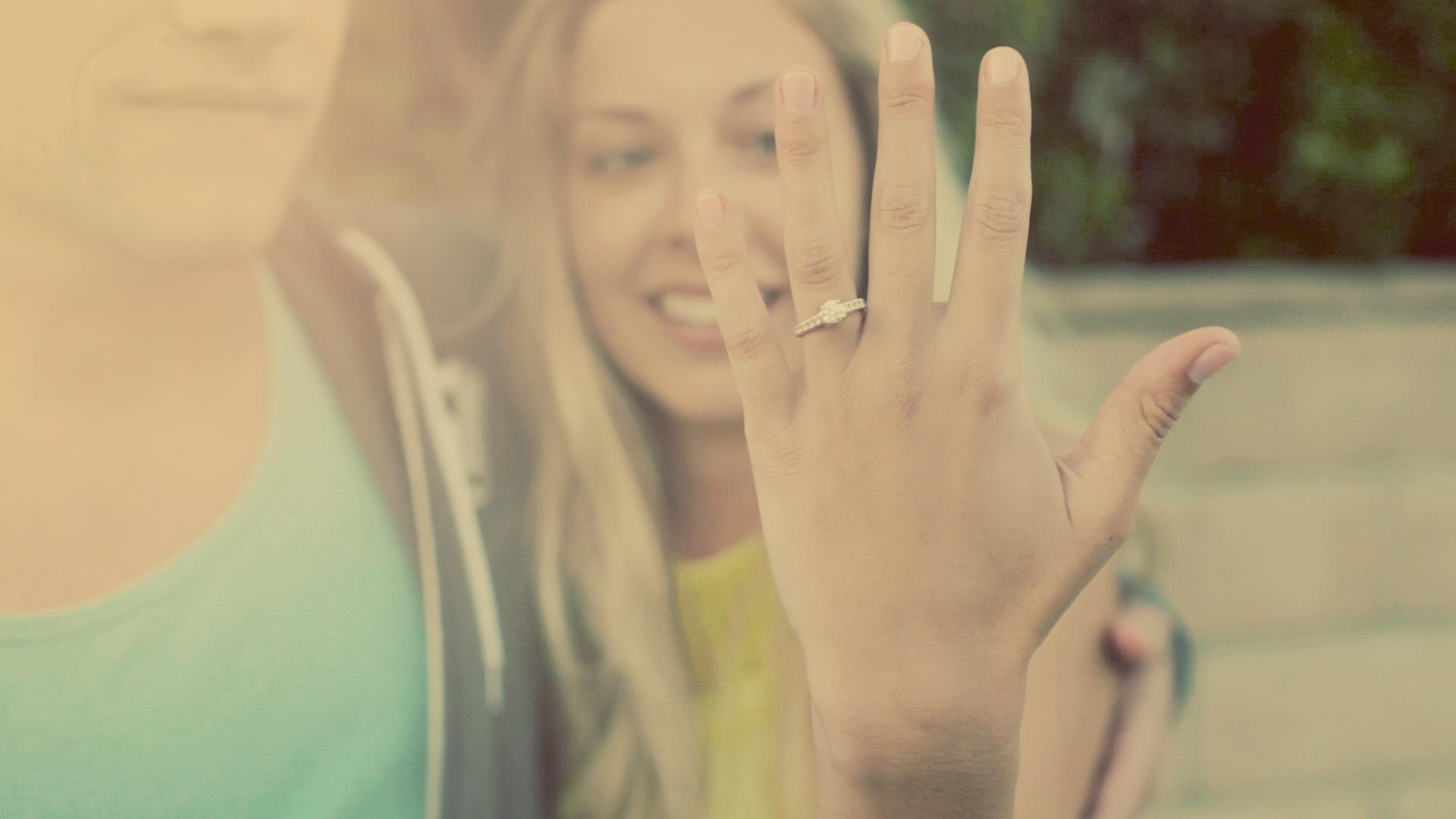 Welcher Finger für die Verlobung?