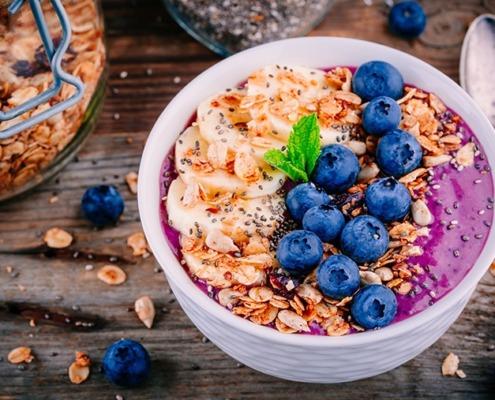 Fit in den Tag: Frühstücksbowl