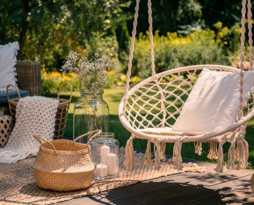 Gemütlich: Sommer im Garten!