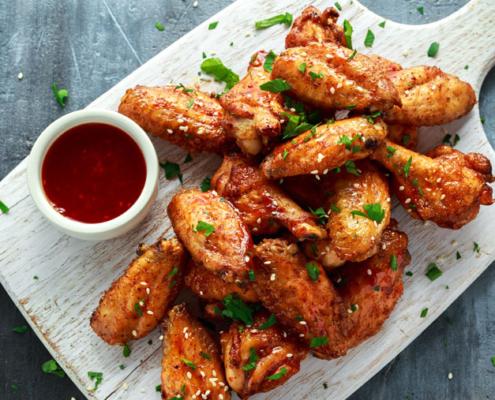 Leckerer Start in die Grillsaison: Chicken Wings