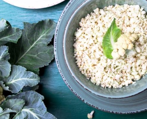 Blumenkohl-Reis