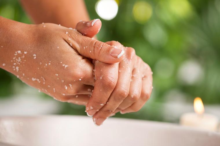 DIY: Peeling für zarte Hände