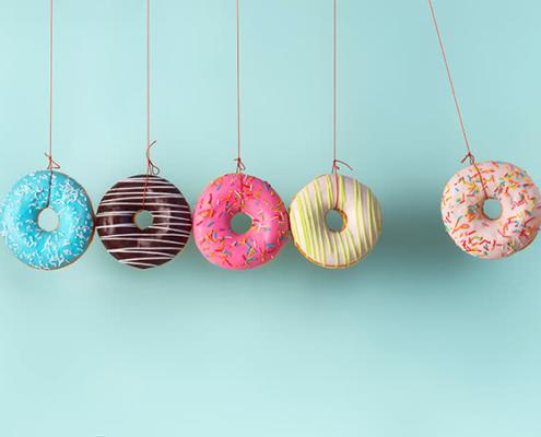 Heute ist: National Doughnut Day