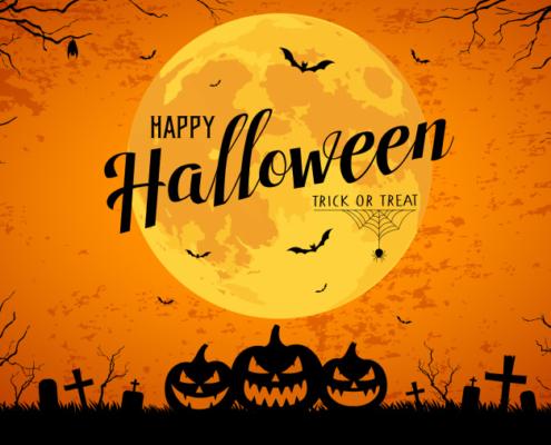 Morgen ist Halloween