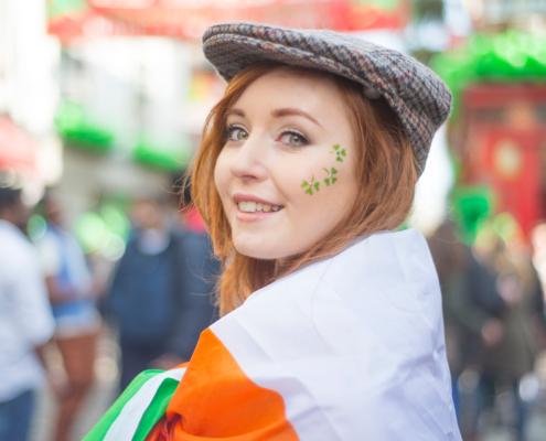 Am 17.03. ist: St. Patrick`s Day!