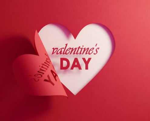 Nicht vergessen: Am 14. Februar ist Valentinstag!