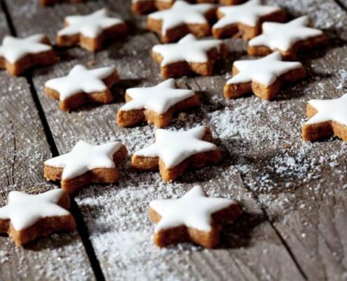 Weihnachtliche Leckerbissen – Zimtsterne