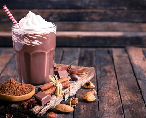Am 12.09. ist: Tag des Schoko-Milchshakes