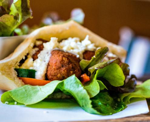 Go Veggie: Rezept für Falafel Pita