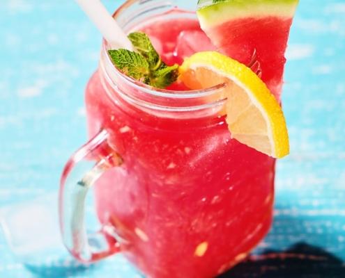 Perfekt für den Sommer: Wassermelonen-Limo